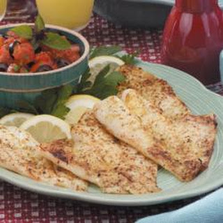 Broiled Orange Roughy