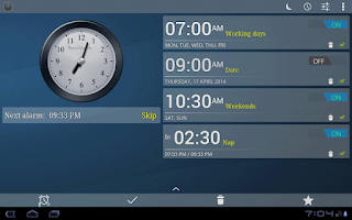 Screenshot of Alarm Clock, Stopwatch & Timer