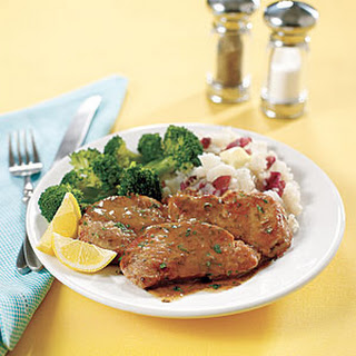 Pork Medallions with Lemon Sauce