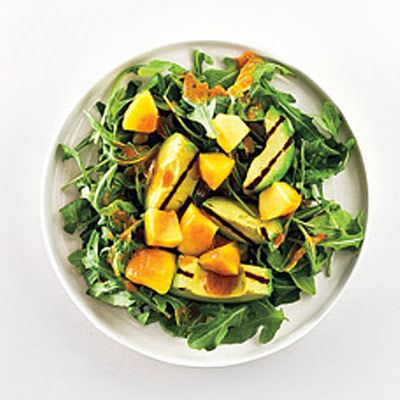 Avocado Salad with Peaches