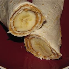 Banana Tortilla Snacks