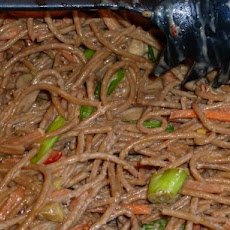 Asian Noodle Salad Quick and Easy Version