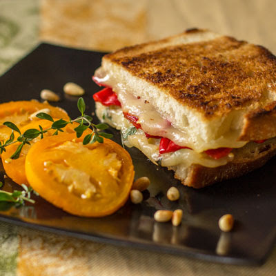 Grilled Cheese with Urfa Biber Chile