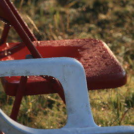chairs after the rain by Eric Rainbeau - Artistic Objects Furniture