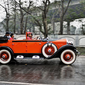 ORANGE BEAST by NEELANJAN BASU - Transportation Automobiles ( car, orange, transportationj, automobile, vehicle, beauty )