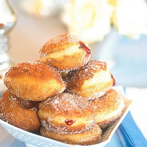 Sufganiyot - Israeli Jelly Doughnuts