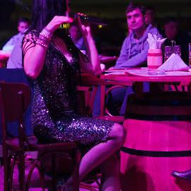 Cabaret by Mihai Popescu - News & Events Entertainment ( creativity, lighting, art, artistic, purple, mood factory, lights, color, fun )