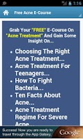 Screenshot of Acne Treatments!