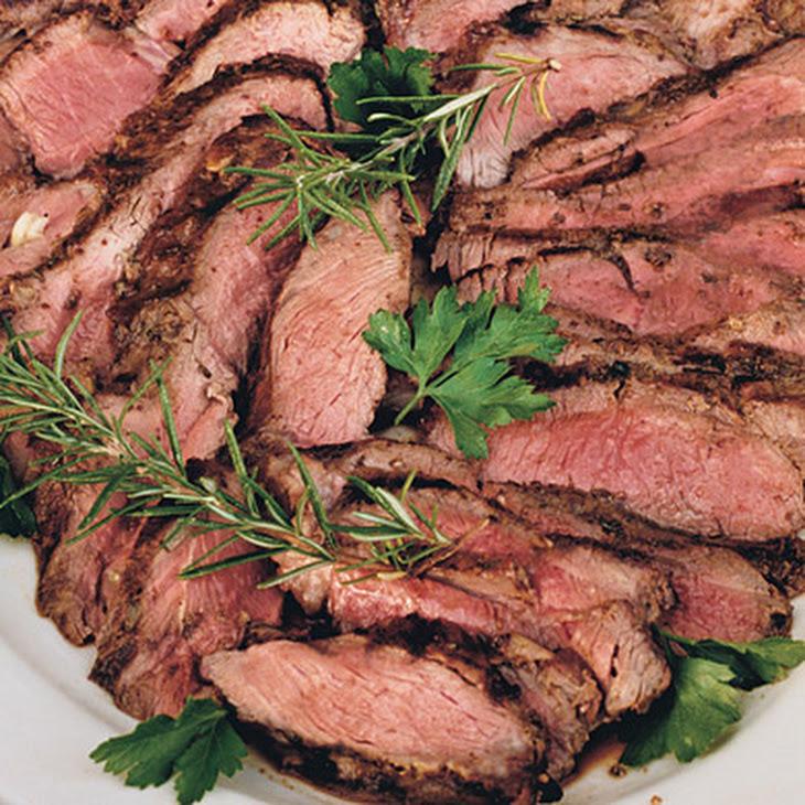 Grilled Leg of Lamb with Rosemary, Garlic, and Mustard Recipe | Yummly