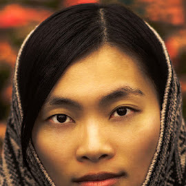 Grace by Liqiang Huang - People Portraits of Women