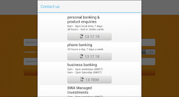 Screenshot of Bankwest