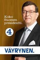 Screenshot of Paavo Väyrynen-Presidenttipeli