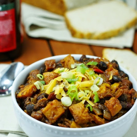 Roasted Butternut Squash Chili