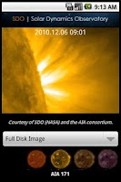 Screenshot of SDO: Solar Dynamic Observatory