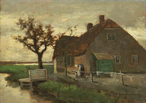 RIJKS: Johan Hendrik Weissenbruch: painting 1903