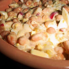 Summer Time Pork and Bean Salad