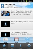 Screenshot of Mercy Relief