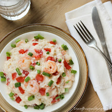 Creamy Rice and Shrimp