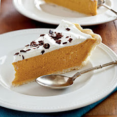 Spiced Pumpkin Chiffon Pie