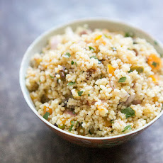 Couscous with Pistachios and Apricots
