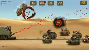 Screenshot of Raid Defender