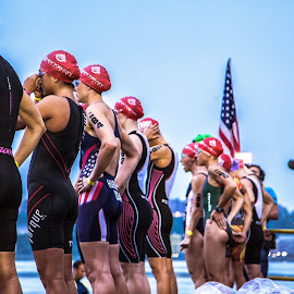 The Starting Line by Brandon Dorn - Sports & Fitness Swimming