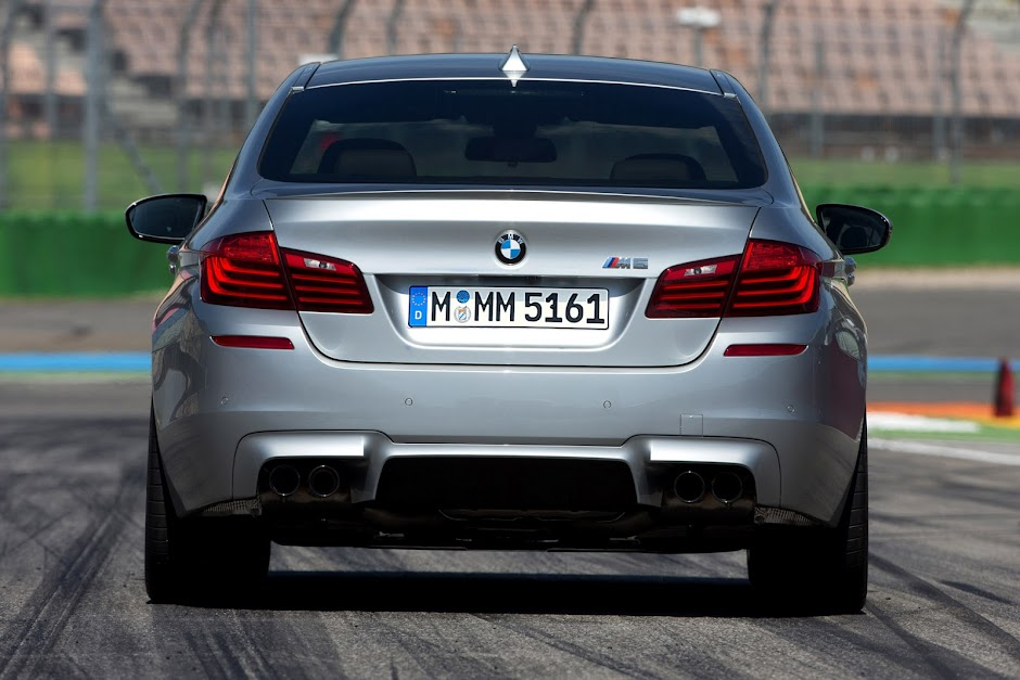 BMW M5 rear - competition pack