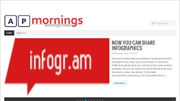 Screenshot of AP Mornings
