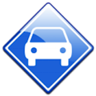 Find my car easy icon