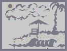 Thumbnail of the map 'the beach'