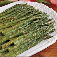 Asparagus with Sesame Butter