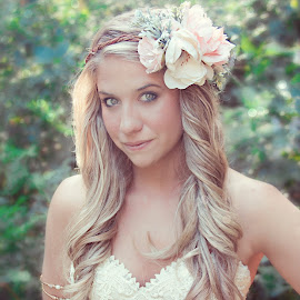 Shara by Jenny Hammer - Wedding Bride ( beauty, bride, pretty, bohemian )