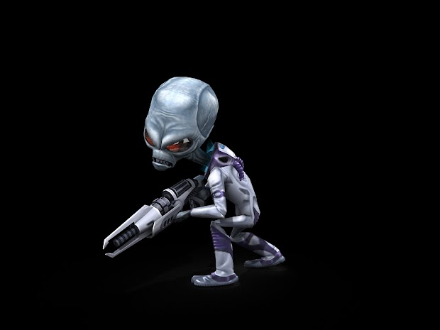 Destroy All Humans! Artwork