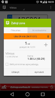 Screenshot of Parking in Lithuania