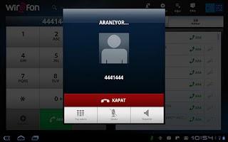 Screenshot of Turk Telekom Wirofon Tablet PC