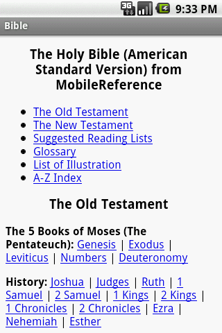 Bible English Translation