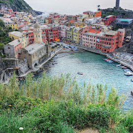 Cinque Terre, Italia by Roger Gulle Gullesen - Buildings & Architecture Public & Historical