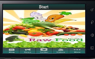 Screenshot of Raw Food For Health