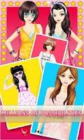 Screenshot of Dress Up! Lace Style