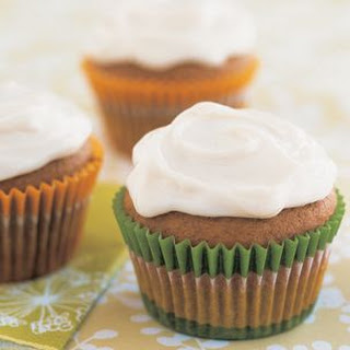 Kabocha Cupcakes with Vanilla Cream Cheese Frosting