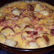 Skinny Bride's Guide to Ham and Potato Casserole