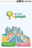 Screenshot of mJelajah
