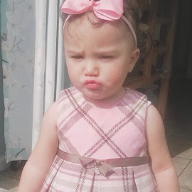 Lexie pout by Katie Tilcock - Babies & Children Toddlers ( #diva #perfect #model )