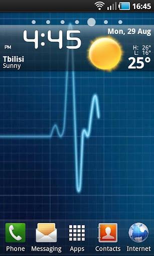 Heartbeat Healthy ECG LWP