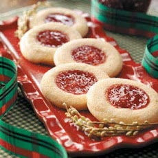 Jelly-Topped Sugar Cookies