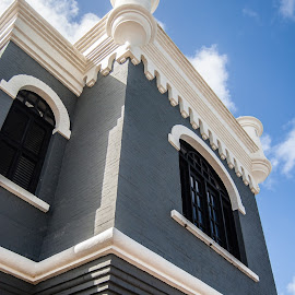 Lighthouse by Matt Meyers - Buildings & Architecture Public & Historical ( puerto rico, old san juan, san juan, fort, travel, favorite, cruise, vacation, castillo, castle, summit, del morro, castillo de san filipe del morro )