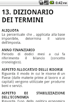 Screenshot of Scienza delle Finanze