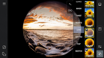 Screenshot of Cameringo Lite. Effects Camera