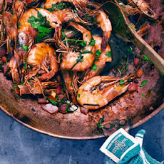 Green Peppercorn Prawns