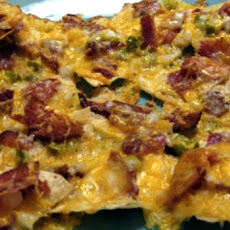 Bacon & Onion Nachos